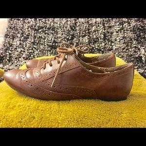 🔹3/60$🔹 Aldo Tan Oxford Shoes